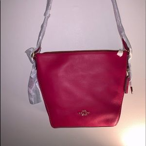 Coach Crossbody HTF pink color